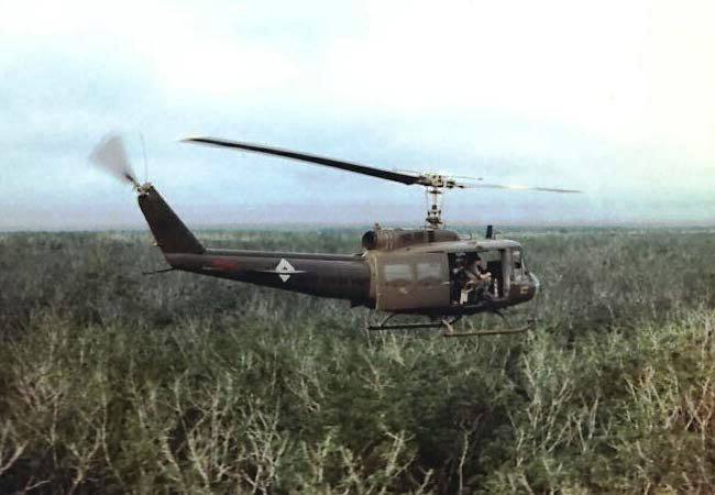 Bell UH-1H over Vietnam